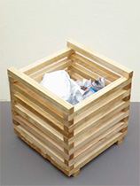 Build a waste paper bin