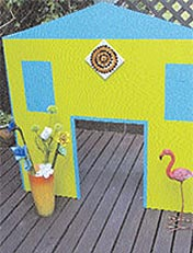 Make a child's playhouse