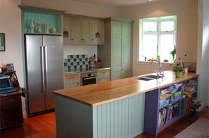 Try these top colour schemes to complement wooden flooring and furnishings.