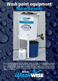 what s new from resene paints   resene washwise reclaimers