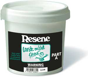Write Directly On To Walls Painted With Resene Write On Wall Paint