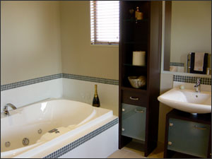 Low sheen paints for bathrooms case study for What paint sheen for bathroom