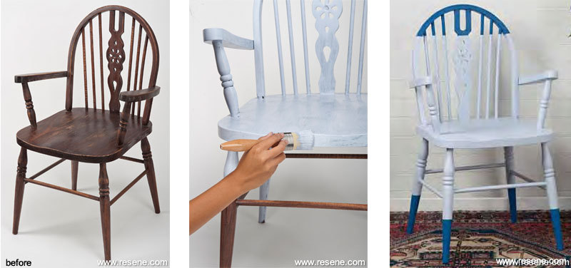 Refurbishing furniture with paint and colour How to renovate old furniture