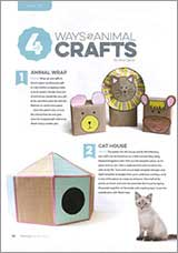 4 ways with animal crafts