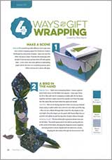 4 ways to make your own gift wrapping paper