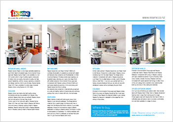 Resene paints feature in the Future proof Buildings showhome in Hamilton