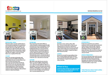 Resene paints feature in the Future proof Buildings showhome in Nelson