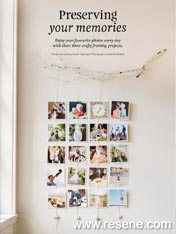 Preserving your memories