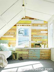 Transform an attic into a useful space
