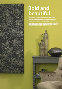 This season's wallpaper trends offer endless options for refreshing your home
