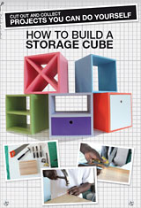 How to build a storage cube