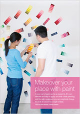 Makeover your place with paint