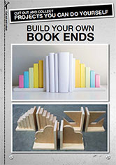 How to build your own book ends