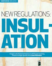 Rental properties must now be insulated.