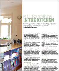 Renovating a kitchen can be time consuming and costly but it can be done it for much less