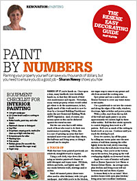 Painting your rental property yourself can save you thousands of dollars