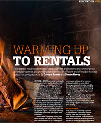 providing tenants with an efficient and affordable heating option has good paybacks