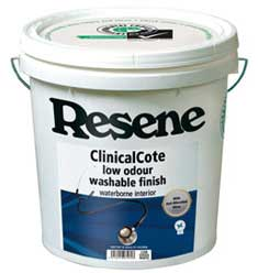 Resene Clinicalcote is Sensitive Choice® approved