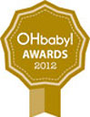 Oh Baby gold award winner 2012