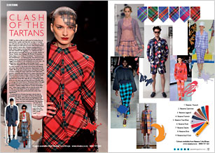 fashion and tartans