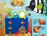 Room decorating and art ideas from Littlies magazine