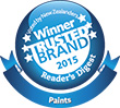 Resene is the winner of the Most Trusted Brand for paint 2015