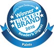 Resene is the winner of the Most Trusted Brand for paint 2016