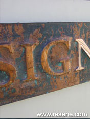 Signwriting projects