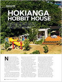 Hokianga Hobbit House - a tunnel house renovation