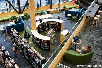Waitohi Johnsonville Library - view from above