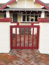 Repaint a front gate